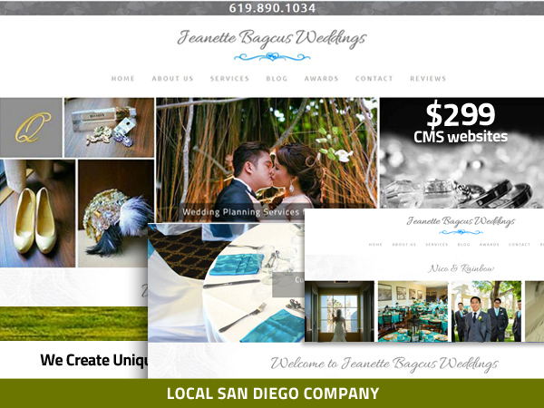 Wedding Planner Website  Carlsbad