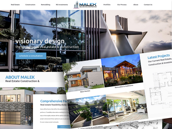 Home Construction, Remodeling, Landscape Contractor Website Design and Development in San Diego.